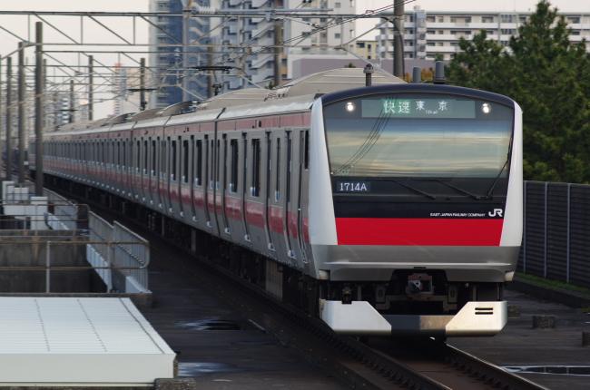 2012年4月18日 武蔵野線 1714A ケヨ507 海浜幕張