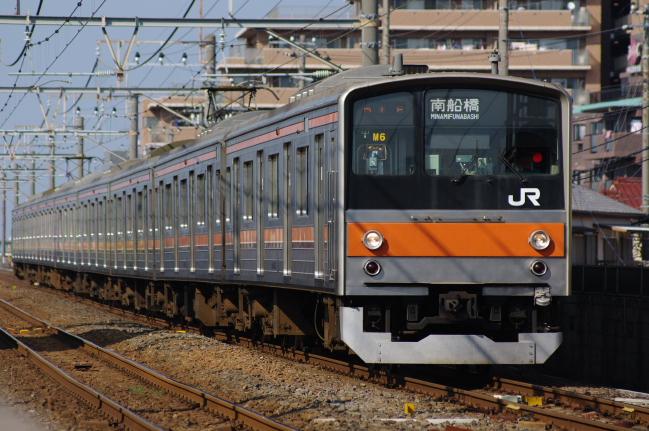 2012年4月18日 武蔵野線 M6