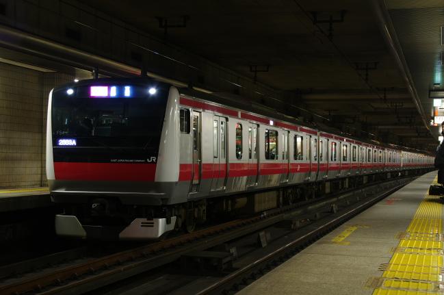 2012年4月19日 京葉線 ケヨ554+F52