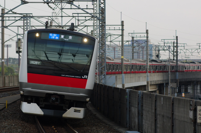 2012年4月19日 京葉線 ケヨ502