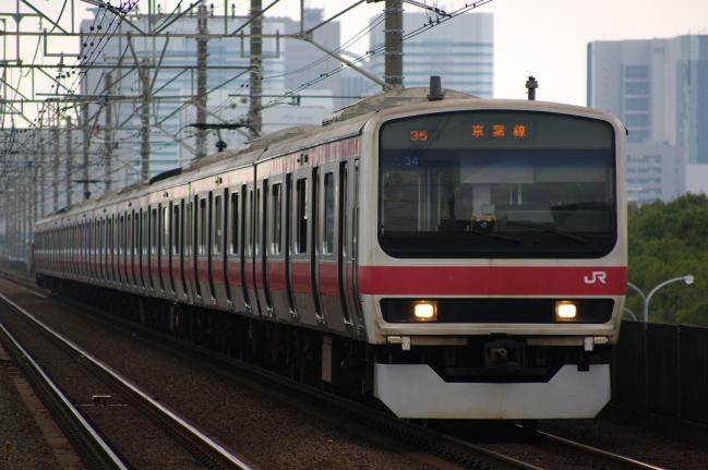 2012年4月19日 京葉線 ケヨ34 検見川浜
