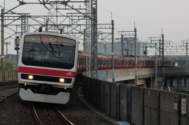2012年4月19日 京葉線 ケヨ34