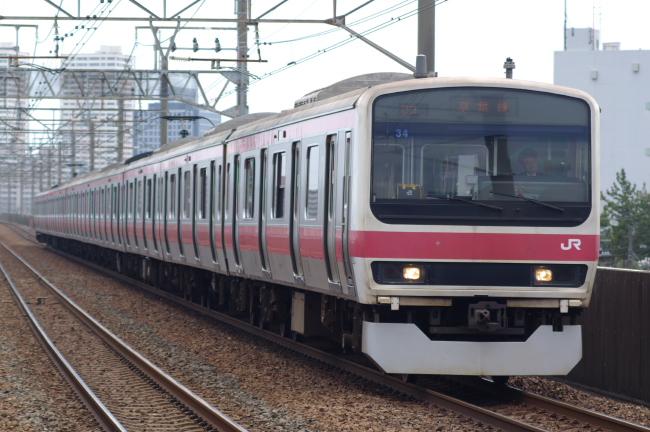 2012年4月21日 京葉線 ケヨ34 市川塩浜