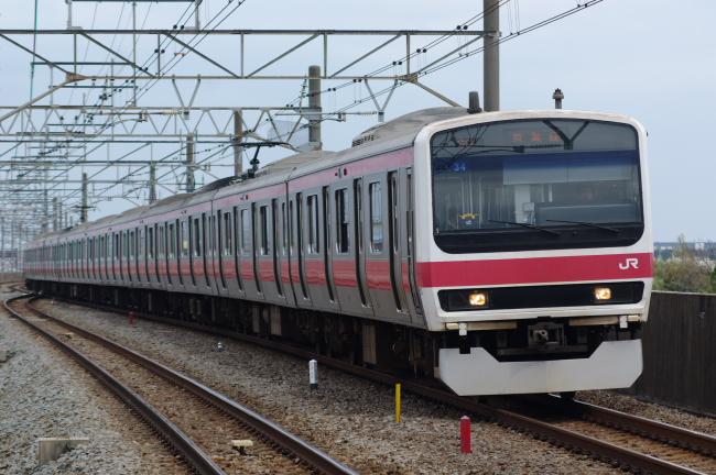 2012年4月21日 京葉線 ケヨ34