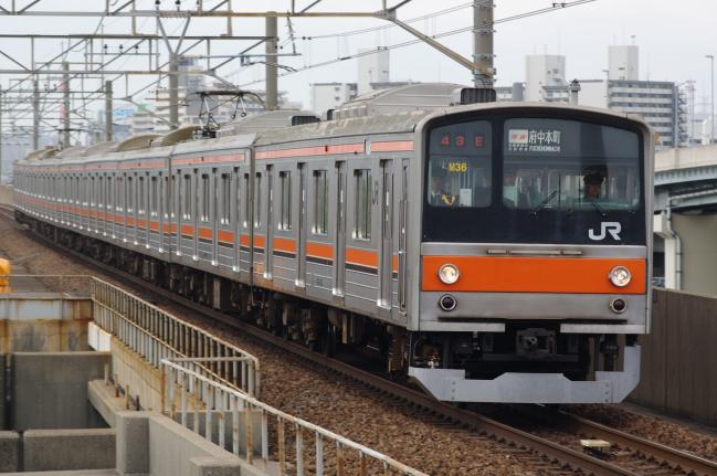2012年4月21日 京葉線 M36
