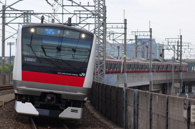2012年4月21日 京葉線 ケヨ552+F52