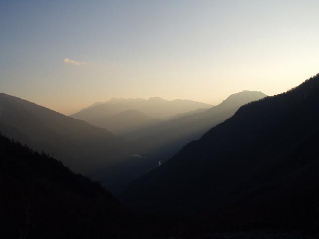 北アルプス-奥穂高岳(上高地~岳沢ヒュッテ~奥穂高岳)H16・11・6~7) 029