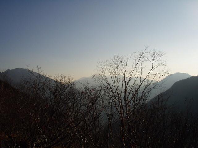北アルプス-奥穂高岳(上高地~岳沢ヒュッテ~奥穂高岳)H16・11・6~7) 026