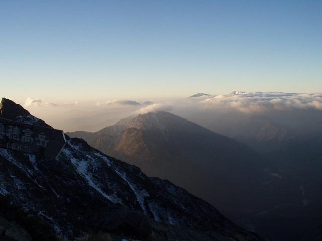 北アルプス-奥穂高岳(上高地~岳沢ヒュッテ~奥穂高岳)H16・11・6~7) 044