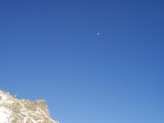 北アルプス-奥穂高岳(上高地~岳沢ヒュッテ~奥穂高岳)H16・11・6~7) 057