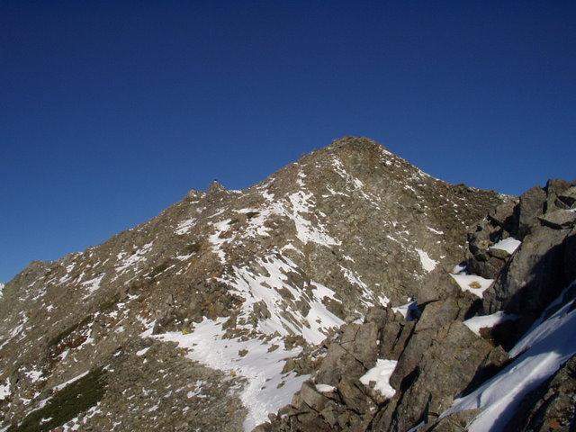 北アルプス-奥穂高岳(上高地~岳沢ヒュッテ~奥穂高岳)H16・11・6~7) 062