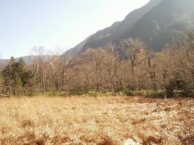 北アルプス-奥穂高岳(上高地~岳沢ヒュッテ~奥穂高岳)H16・11・6~7) 007