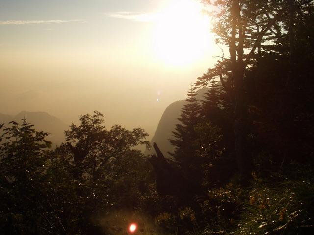 南アルプス-鋸岳縦走(北沢峠~甲斐駒ケ岳~六号石室~第二高点~第一高点~横岳峠~富士川源流~富士見)H17・8・6~7) 053
