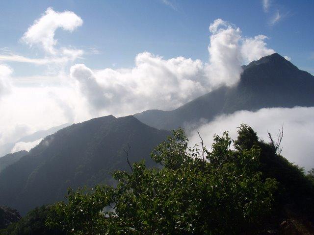 南アルプス-鋸岳縦走(北沢峠~甲斐駒ケ岳~六号石室~第二高点~第一高点~横岳峠~富士川源流~富士見)H17・8・6~7)② 067