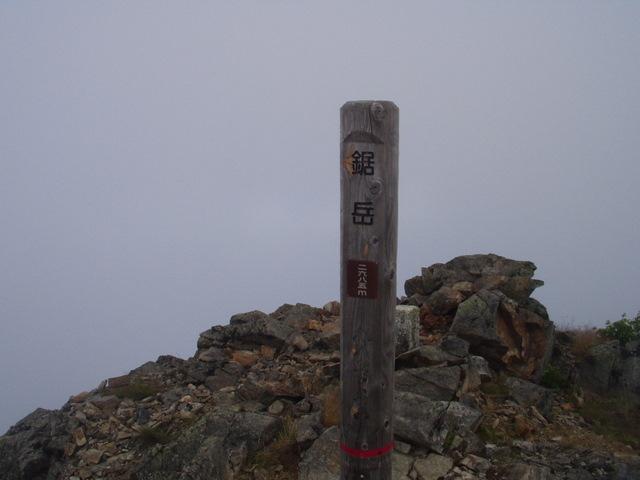 南アルプス-鋸岳縦走(北沢峠~甲斐駒ケ岳~六号石室~第二高点~第一高点~横岳峠~富士川源流~富士見)H17・8・6~7)② 022