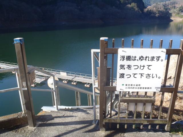 奥多摩ー奥多摩湖~鞘口峠~浅間尾根~払沢の滝H22.12.23 004