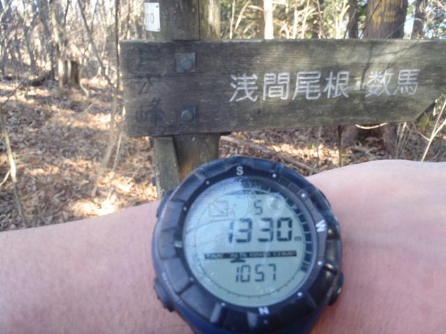 奥多摩ー奥多摩湖~鞘口峠~浅間尾根~払沢の滝H22.12.23 075
