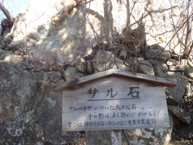 奥多摩ー奥多摩湖~鞘口峠~浅間尾根~払沢の滝H22.12.23 121