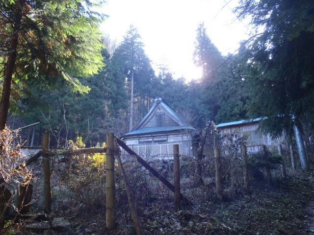 奥多摩ー奥多摩湖~鞘口峠~浅間尾根~払沢の滝H22.12.23 155