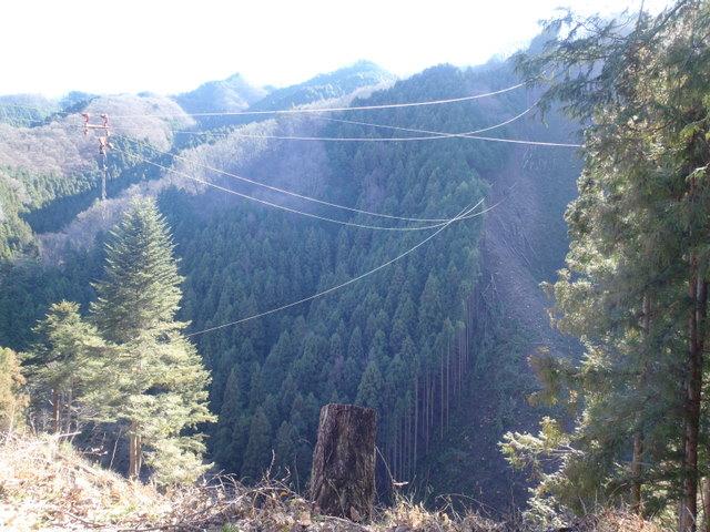 奥多摩ー奥多摩湖~鞘口峠~浅間尾根~払沢の滝H22.12.23 163
