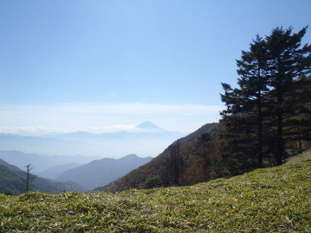 徳和~大ダオ~黒金山~西沢渓谷H23.10.10 097