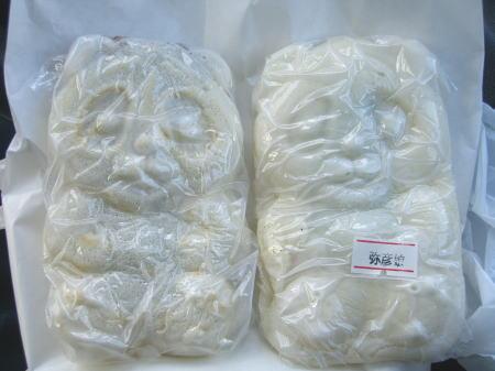分水堂菓子舗の白パンダ焼2