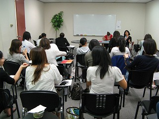 看護英語プログラム授業風景