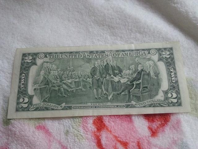 幸運の2ドル札2