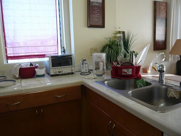 キッチン使いました