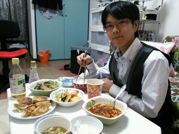 羽田くんとご飯