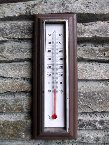 カストリアの朝は-5℃