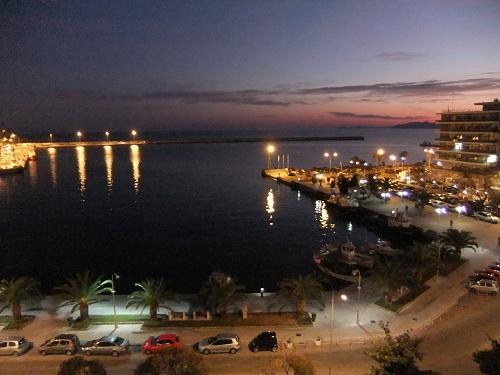 カヴァラ_ホテルからの眺め (2)