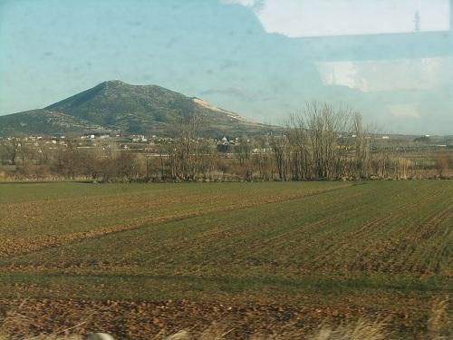 ロドポリへの車窓から