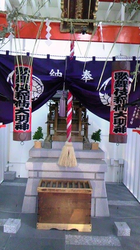 歌舞伎座鳥居