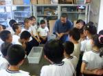 朝鮮初中級学校授業