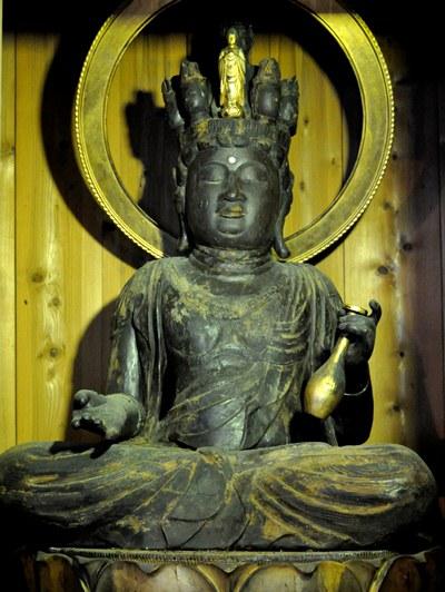 蓮華寺十一面観音坐像