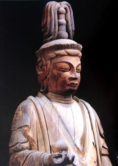 大阪・孝恩寺跋難陀竜王立像