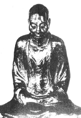 加漆肉身像(広東省南華寺)8世紀