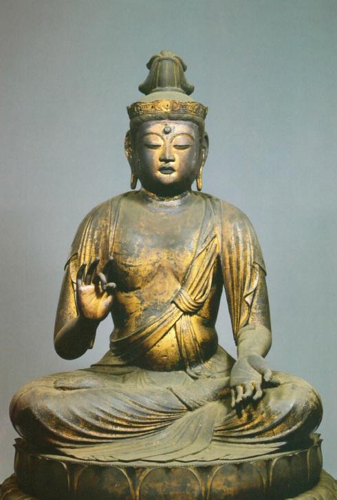 7ツ寺 観音坐像