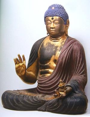 大和郡山・弥勒寺弥勒仏坐像