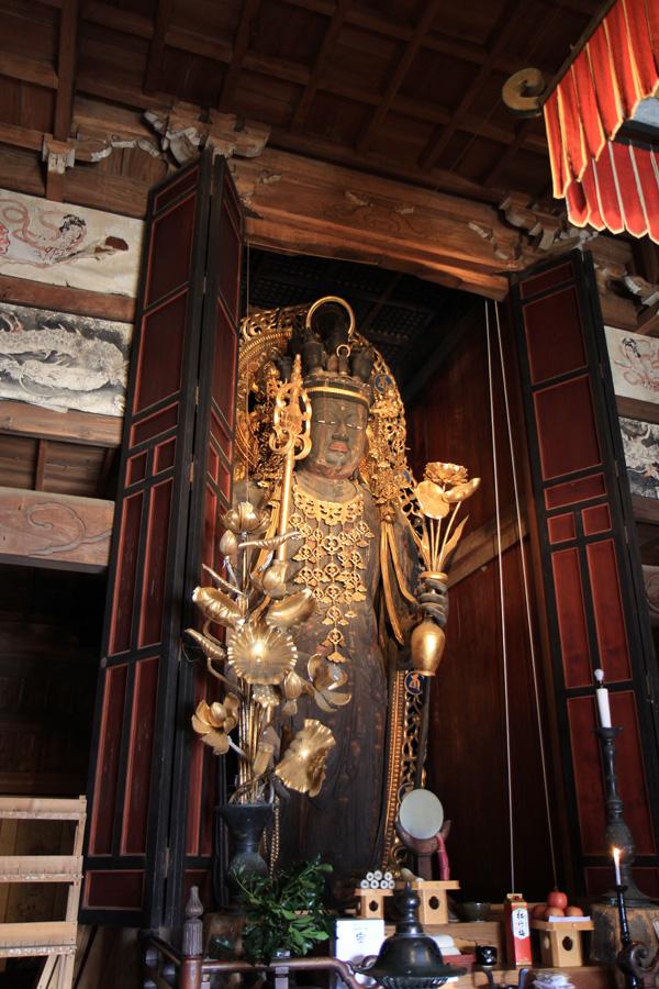近長谷寺十一面観音立像