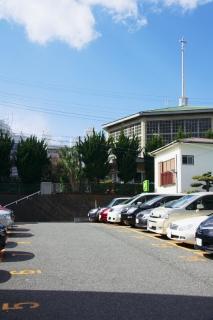 江島道:藤沢カトリック教会の立地
