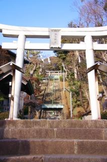 江島道:上諏訪神社