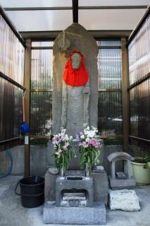 江島道:石上地蔵