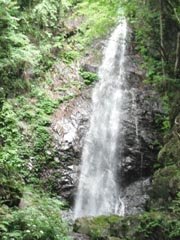 払っ沢の滝180