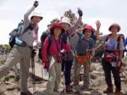 磐梯山登頂