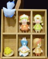 妖精さん(5体セット)