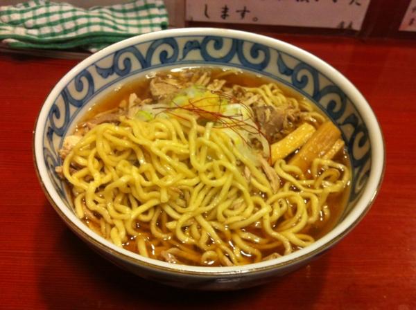 麺屋 十郎兵衛  肉そば 麺