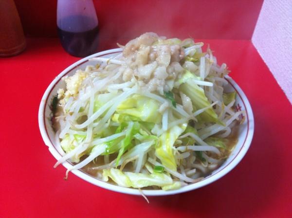 ラーメン二郎 仙台店 小ラーメン ニンニクアブラ