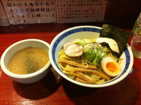 麺屋 十郎兵衛 こまち麺の鶏白湯つけ麺